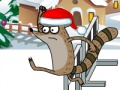 Game Regular Show Christmas Competition. Play online