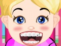 Game Baby girl dental care. Play online