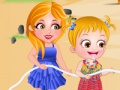 Game Baby Hazel. Beach party. Play online