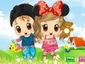 Game Dress twins . Play online