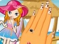Game Beautiful manicure . Play online