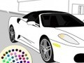 Game Paint the car . Play online